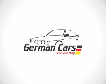 German Cars For Sale Blog Logo Design