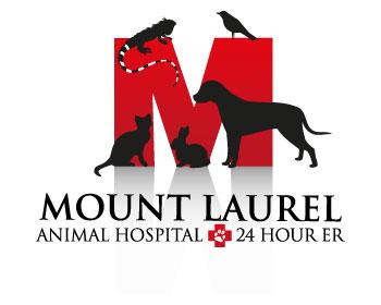 Mount Laurel Animal Hospital & 24 Hour ER Logo Design