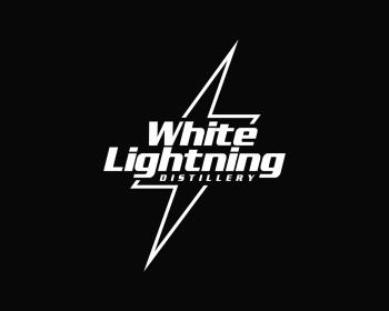 White Lightning Distillery Logo Design