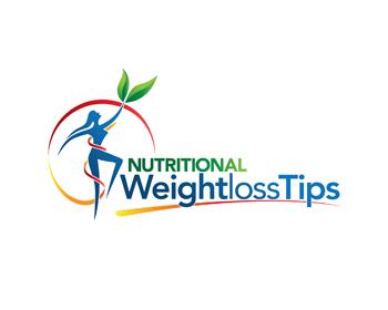 nutritional weightloss tips logo design