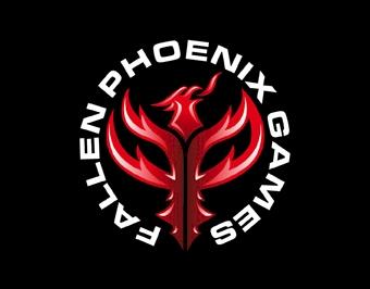 Fallen Phoenix Games Logo Design
