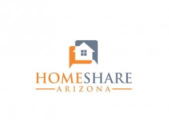 HomeShare Arizona Logo Design