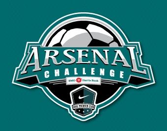 Arizona Arsenal Soccer Logo Design