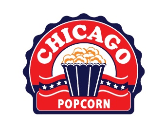 Chicago Popcorn Logo Design