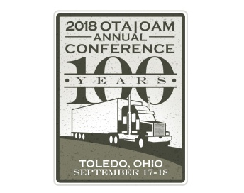 Ohio Trucking Association Logo Design