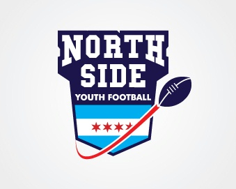 North Side Youth Football Logo Design