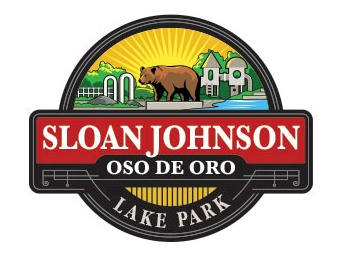 Sloan Johnson Lake Park Logo Design
