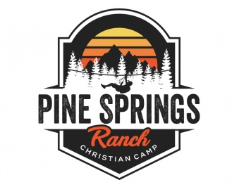 Pine Springs Ranch Logo Design