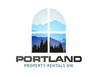 Portland Property Rentals Logo Design