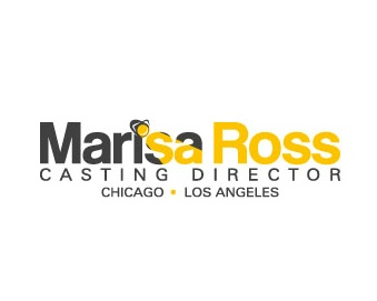 Marisa Ross Casting Director Logo Design