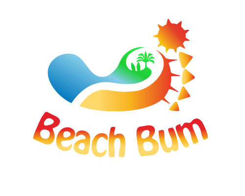 Beach bum logo [ This Logo Was Created By : ragerabbit From : Bulgaria ...