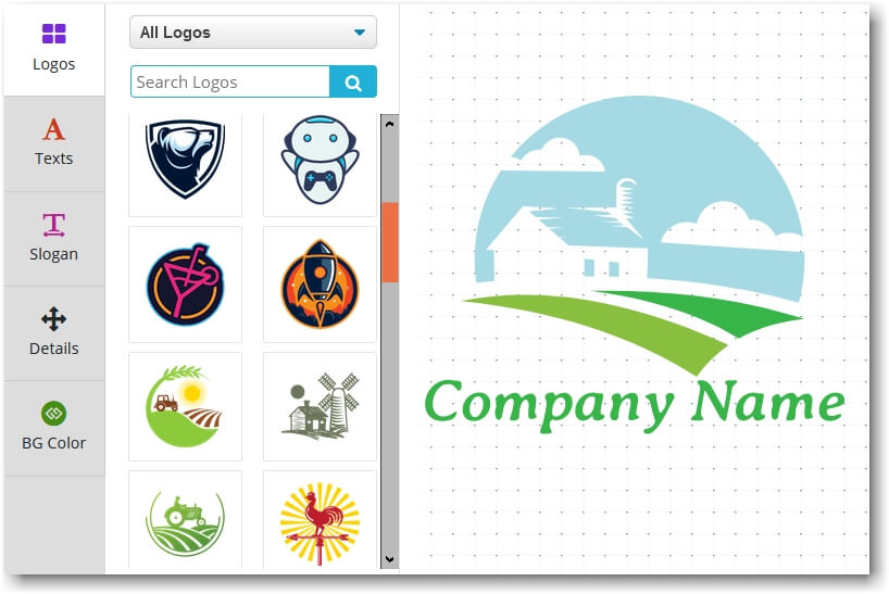 Designing Logo Using an Online Logo Maker