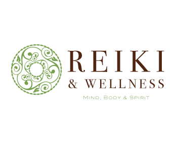 Reiki and Wellness Logo Design