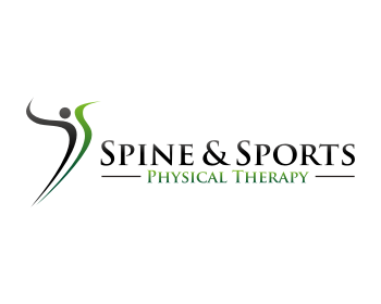 Spine And Sports Physical Therapy Logo Design
