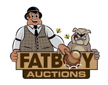 Logo Design Fat Boy Auctions