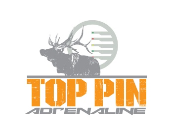 Logo Design Top Pin Adrenaline